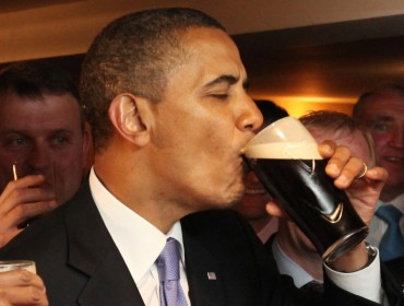 Obama guinness