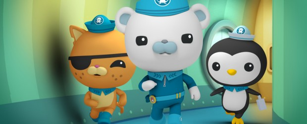 offset 2014 octonauts personalised sticker wall or iron on transfer