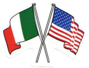 US & Irish flag