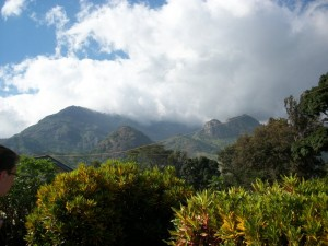 Morogoro - view from house